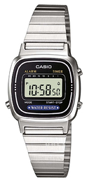 Casio Casio Collection LCD/Stål 30.3x24.6 mm LA670WEA-1EF