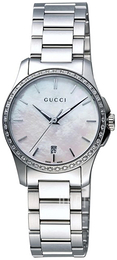 Gucci G-Timeless Vit/Stål Ø27 mm YA126543