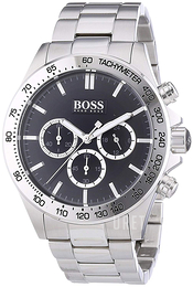Hugo Boss Ikon Svart/Stål Ø44 mm 1512965