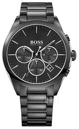 Hugo Boss Onyx Svart/Stål Ø44 mm 1513365