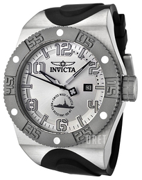 Invicta Force Silverfärgad/Gummi Ø48 mm 0874