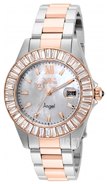 Invicta Angel Vit/Roséguldstonat stål Ø38 mm 22325