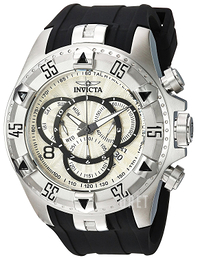 Invicta Excursion Vit/Stål Ø52 mm 24270