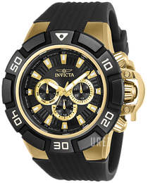 Invicta Force Svart/Gummi Ø52 mm 24388