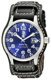 Invicta Force Blå/Läder Ø44 mm 6104