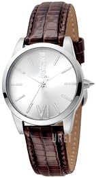 Just Cavalli Relaxed Silverfärgad/Läder Ø32 mm JC1L010L0015