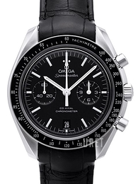 Omega Speedmaster Moonwatch Co-Axial Chronograph 44.25mm Svart/Läder Ø44.25 mm 311.33.44.51.01.001