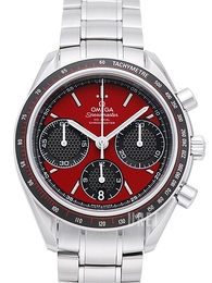 Omega Speedmaster Racing Co-Axial Chronograph 40mm Röd/Stål Ø40 mm 326.30.40.50.11.001