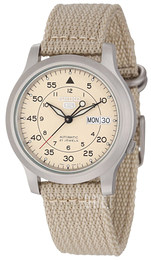 Seiko Dress Beige/Textil Ø37 mm SNK803