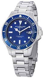 Stührling Original Aquadiver Blå/Stål Ø39 mm 664.02