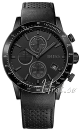 Hugo Boss Rafale Svart/Läder Ø44 mm 1513456