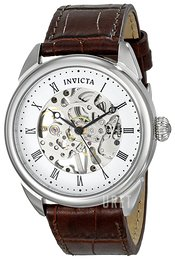 Invicta Specialty Vit/Läder Ø42 mm 17185